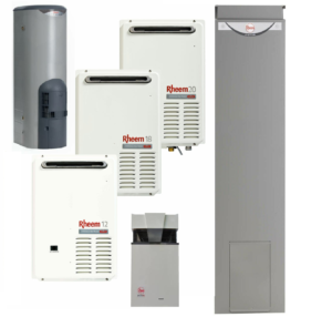 Rheem gas hot water heaters Brisbane, Sydney, Newcastle, Gold Coast, Sunshine Coast