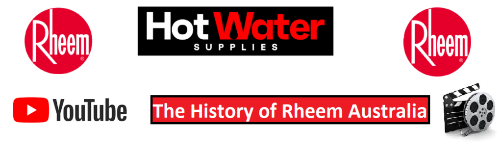 About rheem hot water systems Brisbane Sunshine Coast gold Coast