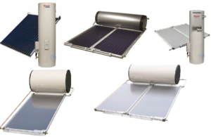 Rinnai solar hot water heater product range