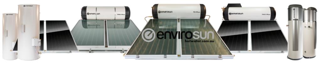 Enviroheat and Envirosun solar hot water systems Brisbane, Gold Coast, Sunshine Coast, Gympie, Newcastle,Sydney
