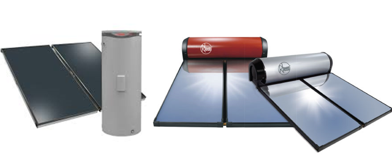 Rheem solar hot water systems solahart